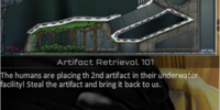 Level 11 alien campaign: Artifact retrieval 101