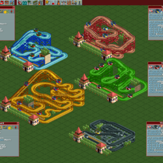 The same small designs, with added tunnels and scenery to increase the Excitement
