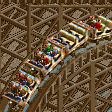 Mine Cart Ride RCT2 Icon
