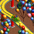 Carnival Float Ride - Frog Cars RCT2 Icon