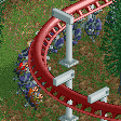 Swinging Floorless Cars RCT2 Icon