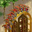 Boomerang Coaster RCT2 Icon