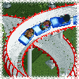 Bobsleigh Coaster RCT1 Icon