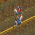 Jousting Knights Coaster RCT2 Icon