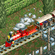American Style Steam Trains RCT2 Icon