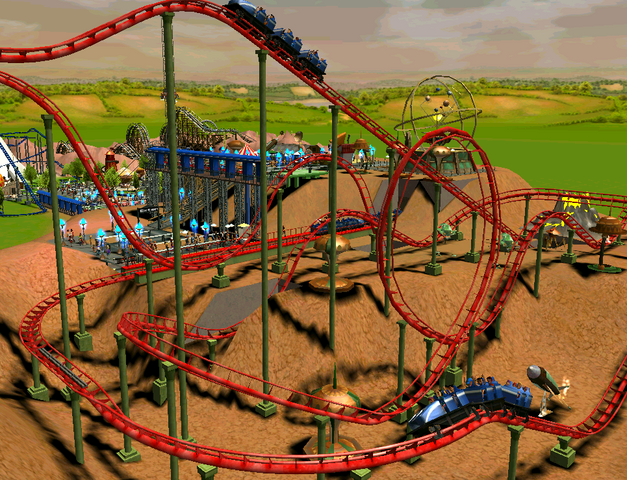 File:Looping Roller Coaster RCT3.png