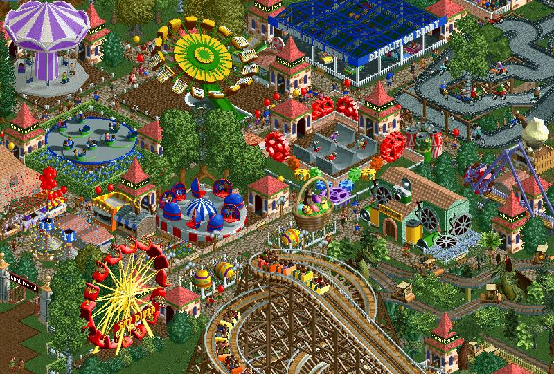 Rollercoaster Tycoon 2 Roblox