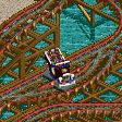Police Car Coaster RCT2 Icon