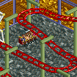 Inverted Hairpin Coaster RCT2 Icon