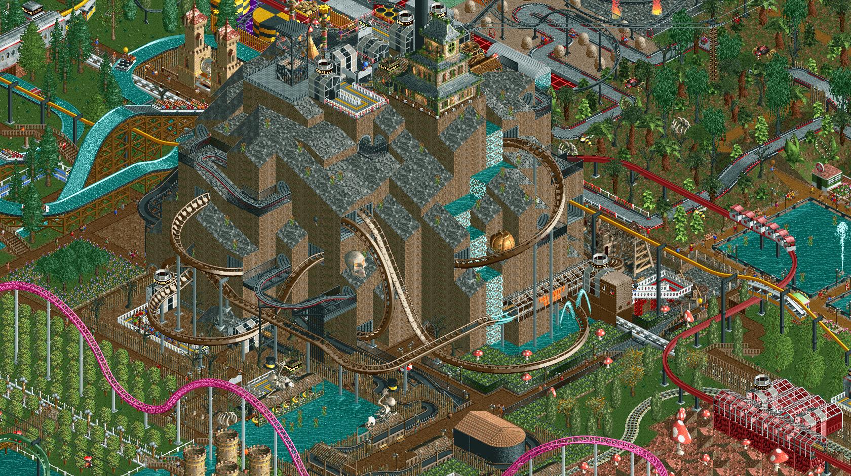RollerCoaster Tycoon 2: Time Twister / Wacky Worlds