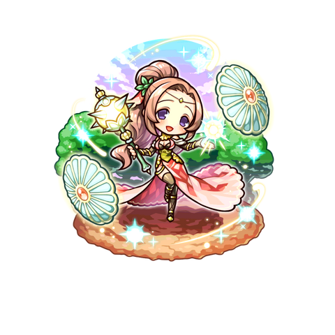 The Merciful Maiden in the mobile game