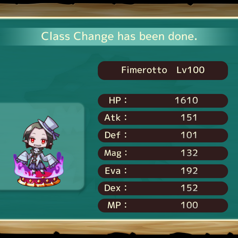Your MC as a Fimerotto in the mobile game