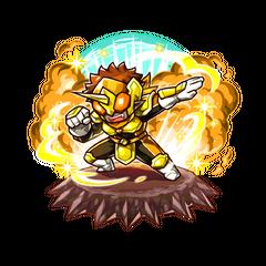 The Yellow Paraberanger as a Karma Oni