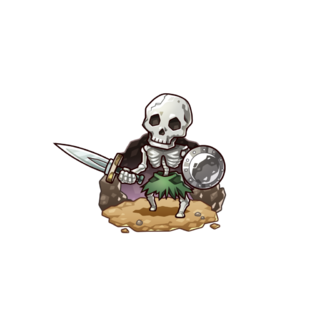 A Skeleton in the mobile game