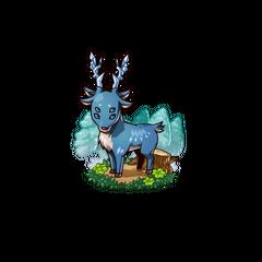 A Blue Deer
