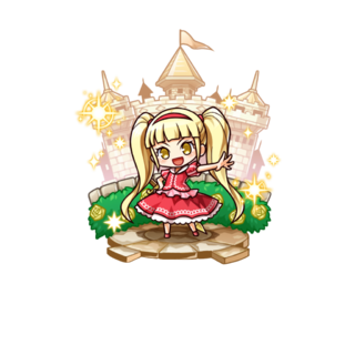 Princess Rubiria in the mobile game