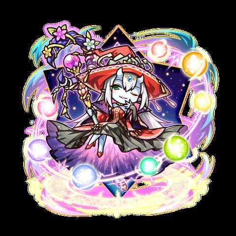 Sei as an Spiritan Queen in the mobile game