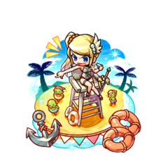 Therese (Beach Lifeguard) in the mobile game