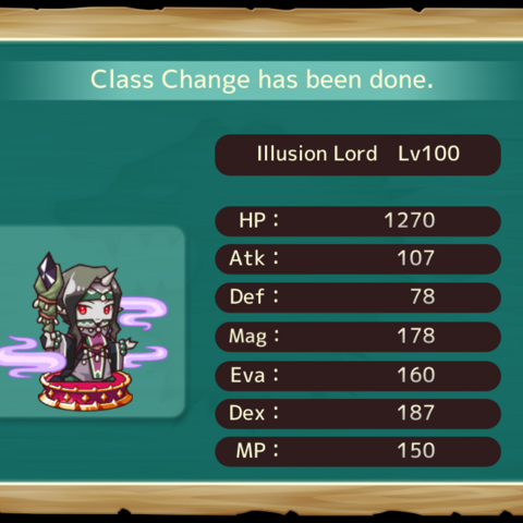 Your MC as an Illusion Lord in the mobile game