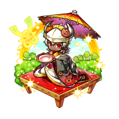 Asue (Traditional Kimono Bride) as a Hell Demon King