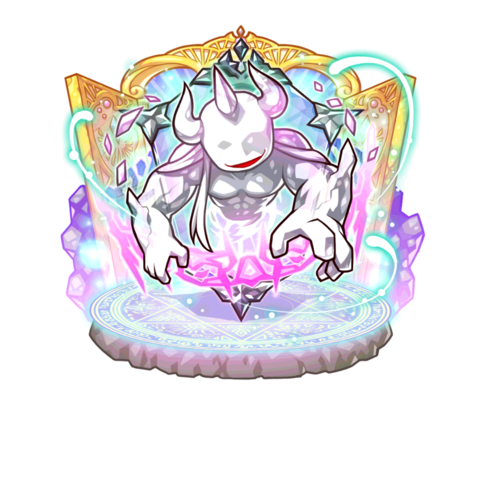 The Shapeshifter Dungeon Boss (Mentalis) of the Dyushisu Labyrinth in the mobile game
