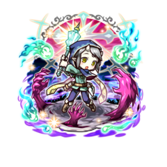 Seiji (Sacred Mace Exorcist) as a Saint Lord in the mobile game