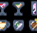 List of drinks on the Stardust's menu
