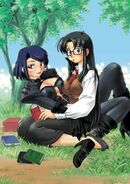 Nancy and Yomiko Novel Cover