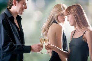 2008 1027 iStock girl jealous at couple