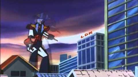 Brave Raideen VS Gigaru