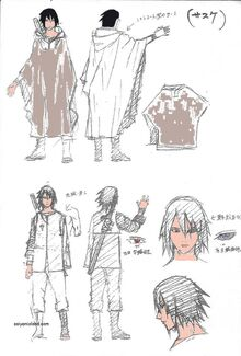 The-Last-Sasuke-Sketch-Color
