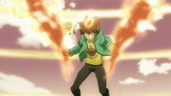 Byakuran's Wings Burned