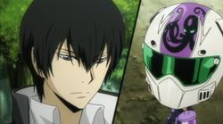 Hibari Paired With Skull