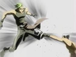 Ryohei Blind Attack
