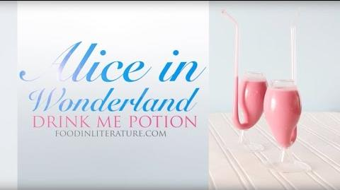 Alice in Wonderland Drink Me Potion, Easy Party Version - Food in Literature