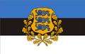 Estonian presidential flag.png
