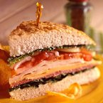 Focaccia Hero Sandwich