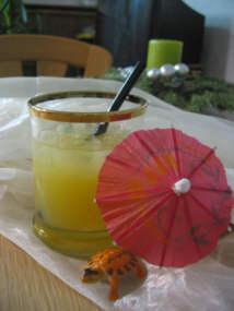 Cocktail rum orange