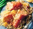 Knockwurst with Sauerkraut Dinner