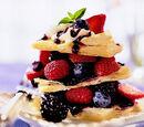 Berry Napoleons with Honey Lavender Cream