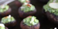 Avocado-stuffed Portobello Mushrooms
