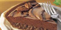 Chocolate and Peanut Butter Praline Pie