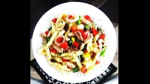 Tasty and Flavorful Chicken Pasta with Veggies Recipe