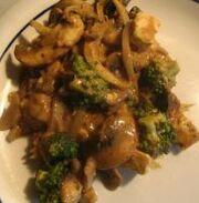 Tofu and Broccoli with Peanut Sauce