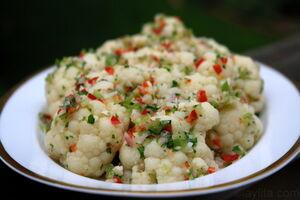 Cauliflower-salad-with-spicy-vinaigrette