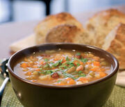 SZERB BABLEVES (SERBIAN BEAN SOUP)