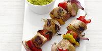 Grilled Turkey Shish Kabob