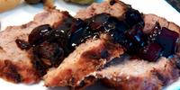 Roast Pork Tenderloin with Cherry Sauce