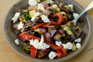 Ratatouille-salad