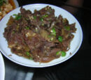 Stir-fried Beef with Peppers